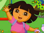 Dora Playing With Friends